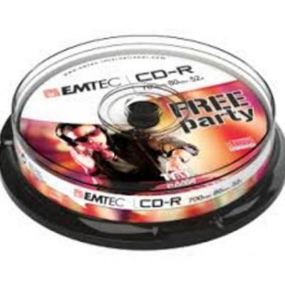 Emtec CD: 52x, 10 pack