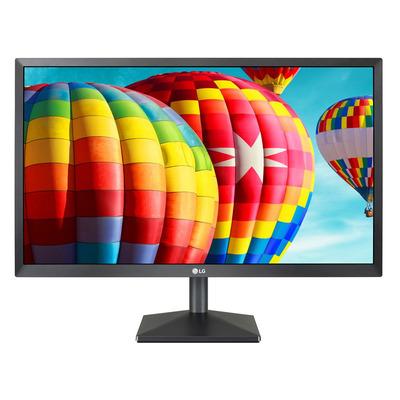 """LG 21.5"""" IPS (1920x1080), 200 cd/m2, 5ms, 25W, HDMI, D-Sub Monitor - Zwart"""