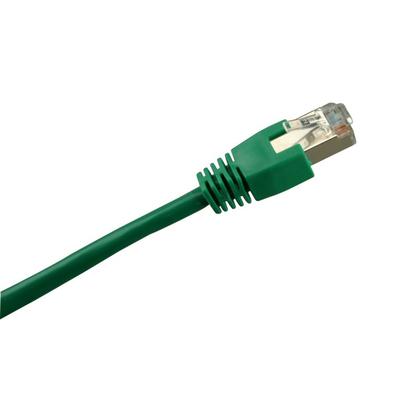 Sharkoon RJ45 CAT.5e SFTP green 1m Netwerkkabel - Groen