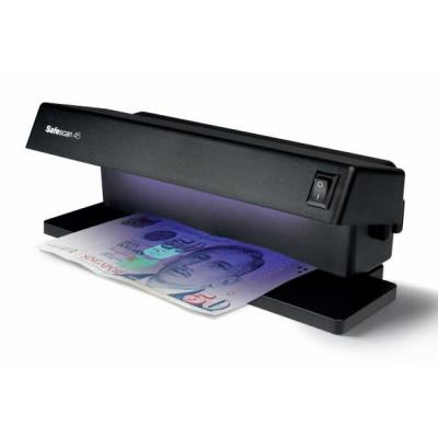Safescan 45 Vals geld detector - Zwart
