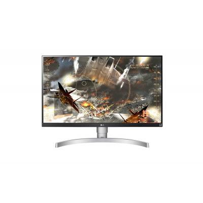 """LG 27UL650-W 27"""" 4K UHD IPS Monitor - Zilver"""