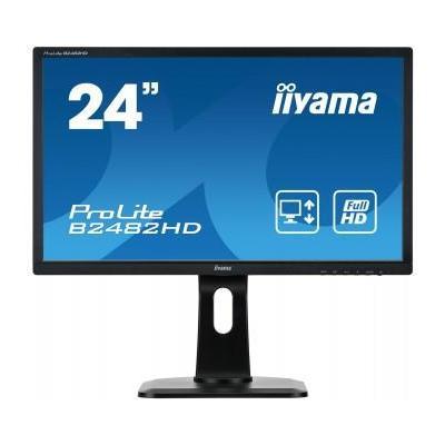 "Iiyama monitor: ProLite B2482HD-B1 24"" Full HD TN - Business - Zwart"