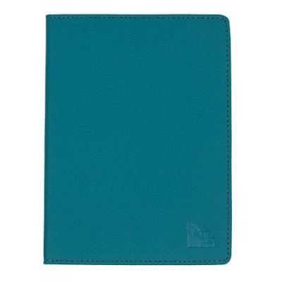 Gecko e-book reader case: Protection cover deluxe f / Kobo Aura H2O, Leatherette, Light Blue, 160g - Blauw