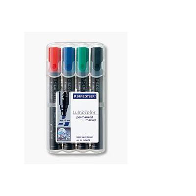 Staedtler markeerstift: Lumocolor Box - Veelkleurig
