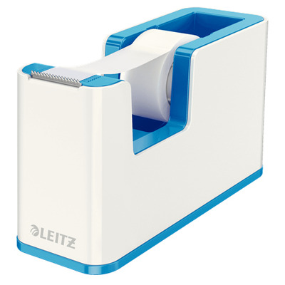 Leitz tape afroller: WOW Tape Dispenser - Blauw, Metallic