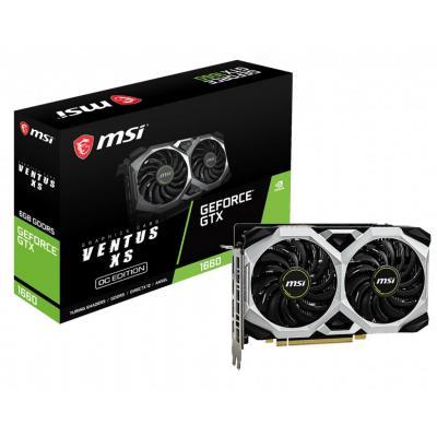 MSI NVIDIA GeForce GTX 1660, 7680 x 4320 px, 1830 MHz, 6GB GDDR5, 192-bit, DisplayPort x 3, HDMI x 1, 130 W, 204 x .....