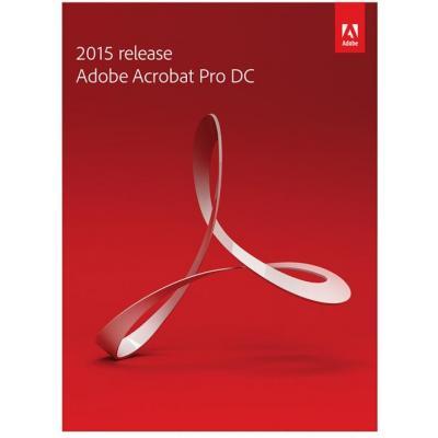 Adobe desktop publishing: Acrobat Pro DC Educatieve licentie