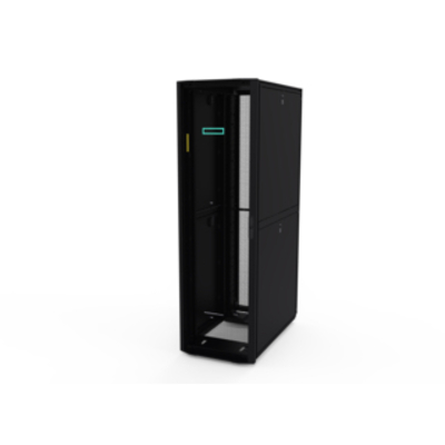 Hewlett Packard Enterprise 42U 600mmx1200mm G2 Kitted Advanced Shock with Side Panels and .....