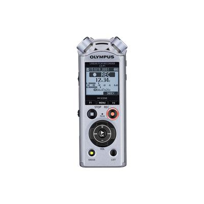 Olympus voice recorder: LS-P1 - Zilver