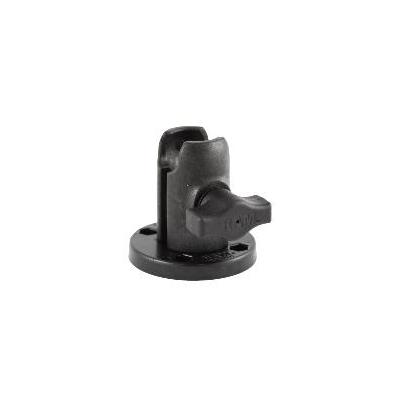 RAM Mounts Single Socket Arm, Round Montagekit - Zwart