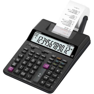 Casio calculator: HR-150RC - Zwart