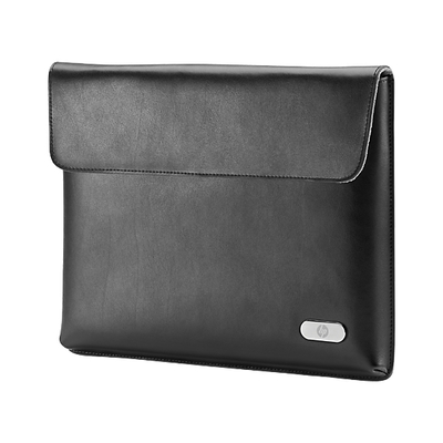 HP ElitePad Leather Slip Case tablet case - Zwart