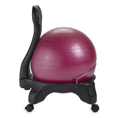 Gaiam fitness, gymnastiek & gewichtstraining: Balance Ball Stoel - Fuchsia