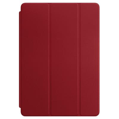 Apple tablet case: Leren Smart Cover voor 10,5‑inch iPad Pro - (PRODUCT)RED - Rood