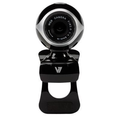 V7 webcam: Vantage Webcam 300 - Zwart, Grijs