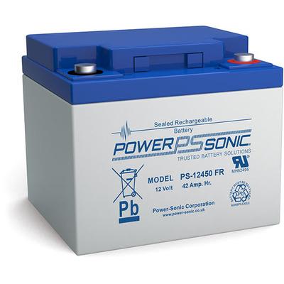 Power-Sonic PS-12450VDS UPS batterij - Blauw, Grijs