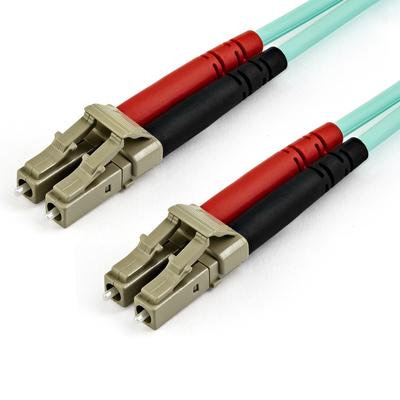 StarTech.com 10 m OM4 LC naar LC Multimode Duplex optische glasvezel netwerkkabel Aqua 50/125 40/100Gb LSZH .....