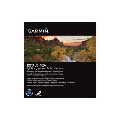 Garmin TOPO U.S. 100K, MicroSD