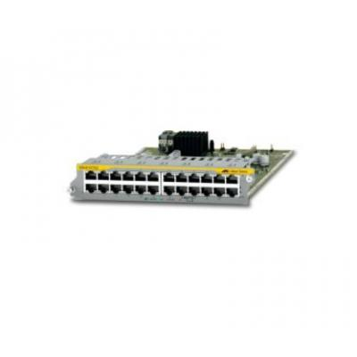 Allied Telesis 24-Port 10/100/1000T Ethernet Line Card, f / SwitchBlade x8100 Series Netwerk switch module