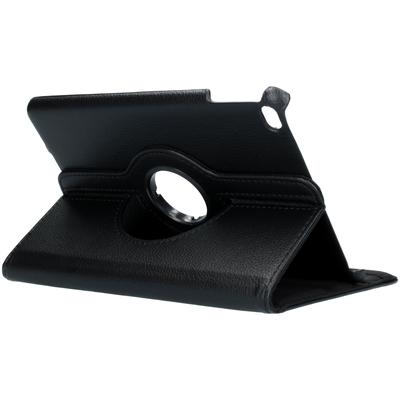 CP-CASES 360° draaibare hoes iPad mini (2019) / Mini 4 - Zwart - Zwart / Black Tablet case