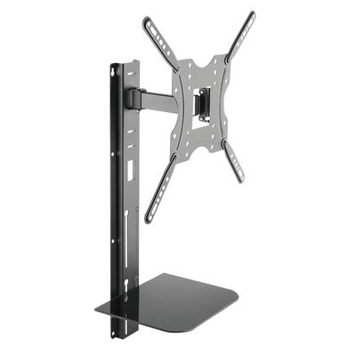 "LogiLink TV wall mount, tilt -10°/+3°, swivel -70°/70°, 32–55"", max. 30 kg Montagehaak - ....."