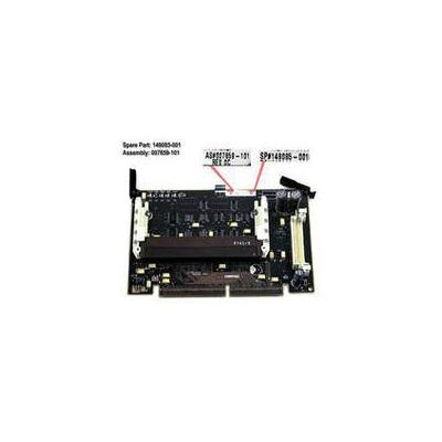 HP BOARD,PROC,686/266,W/512K moederbord