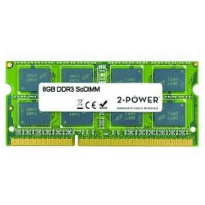 2-power RAM-geheugen: 8GB MultiSpeed SoDIMM - Groen