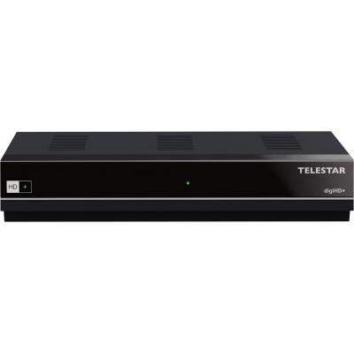 Telestar ontvanger: digiHD+ - Zwart