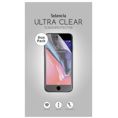 Duo Pack Ultra Clear Screenprotector Nokia 3.1 Plus - Screenprotector Mobile phone case