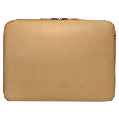 Mobilis Origine sleeve 12.5-14'', tan Laptoptas - Lichtbruin