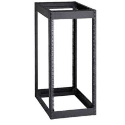 Black Box 4-Post, 22U Rack - Zwart