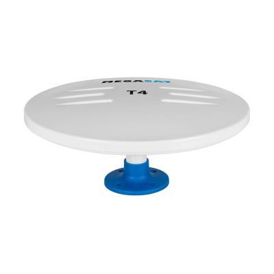 Megasat T4 Antenne - Blauw, Wit