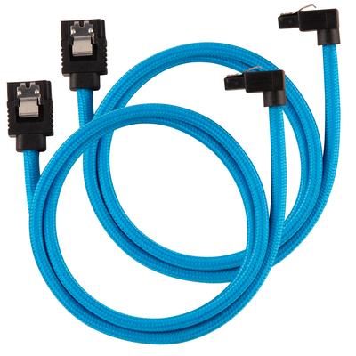 Corsair CC-8900285 ATA kabel - Zwart, Blauw