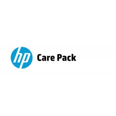 Hp garantie: 5 jaar hardwaresupport op locatie op de eerst volgende werkdag bij schade - Alleen geldig bij notebook