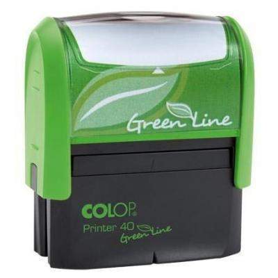 Colop stempel: 40 Green Line