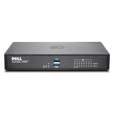 Dell firewall: SonicWALL TZ500 + 8x5 Support 1Y