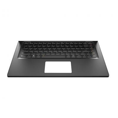 Lenovo notebook reserve-onderdeel: Upper case for Yoga 2 13 - Zwart
