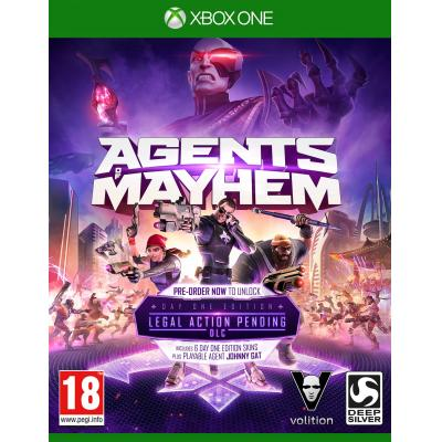 Koch media game: Agents of Mayhem (Day One Edition) (incl. 6 Character Skins)  Xbox One