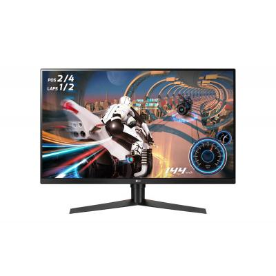 "LG 32GK650F-B 32"" WQXGA LED Monitor - Zwart, Rood"
