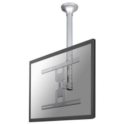 Newstar flat panel plafond steun: LCD/TFT/LED plafondsteun - Zilver