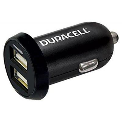 Duracell oplader: In-Car USB Charger - Zwart