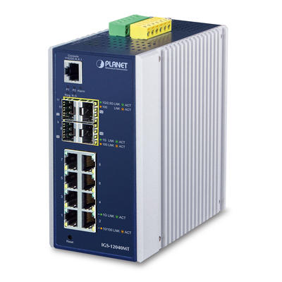 Planet IGS-12040MT Switch - Zwart