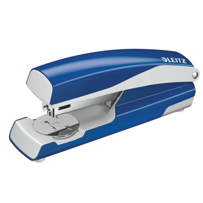 Leitz 5502 Nietmachine - Blauw, Roestvrijstaal, Wit