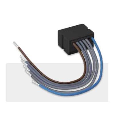 One Smart Control DRUKKNOPKLEM MET 2 INGANGEN, 230 V AC, 50 Hz, 0.4 W, IP20 Elektrische aansluitklem