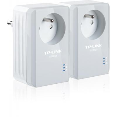 Tp-link powerline adapter: TL-PA4015PKIT - Wit