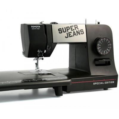 Toyota naaimachine: Super Jeans 15PE - Zwart