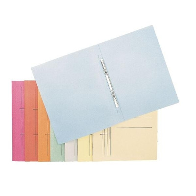 Esselte Paperboard folder, Red Map - Rood