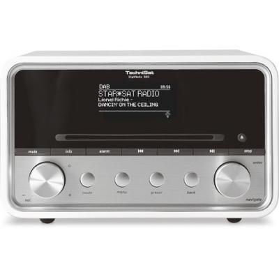 Technisat CD-radio: DigitRadio 580 - Wit