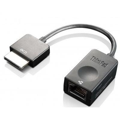 Lenovo ThinkPad OneLink+ to RJ45 Adapter Kabel adapter - Zwart
