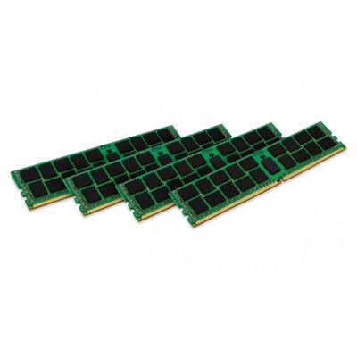 Kingston technology RAM-geheugen: ValueRAM 128GB DDR4 2400MHz Kit - Groen